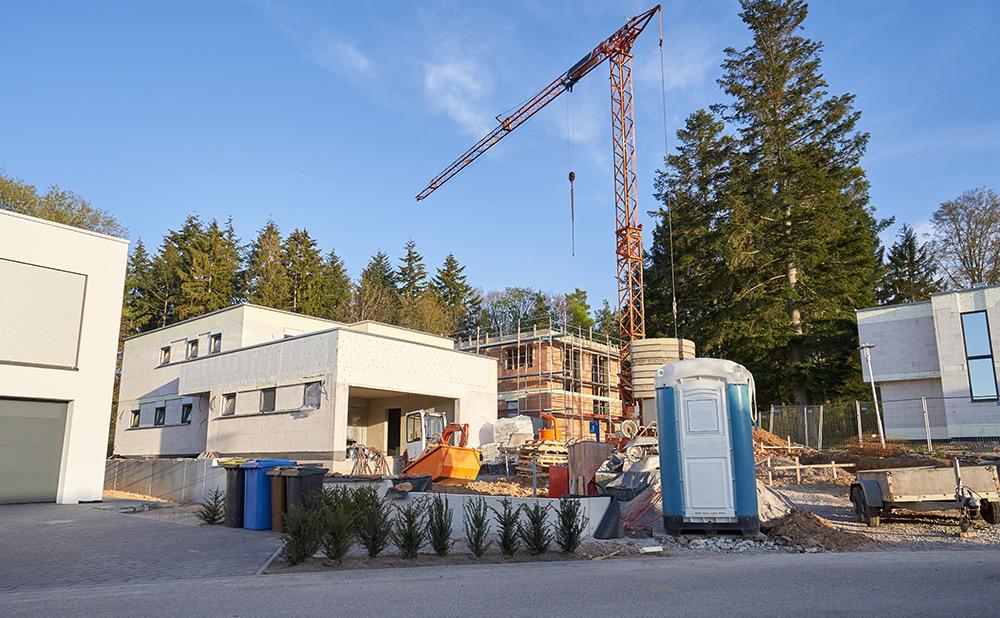 Bauvorhaben Sendling - Baumeisterarbeiten